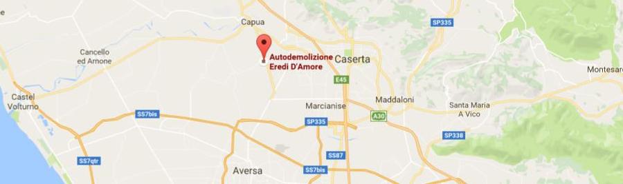 Autodemolizione D'Amore a San Tammaro Caserta
